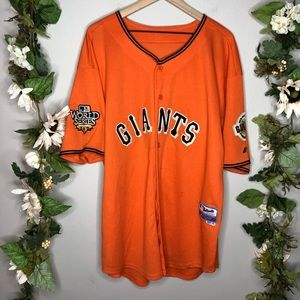 San Francisco Giants World Series Jersey